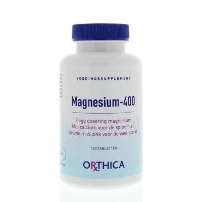Orthica | Magnesium 400 | 120 tabletten